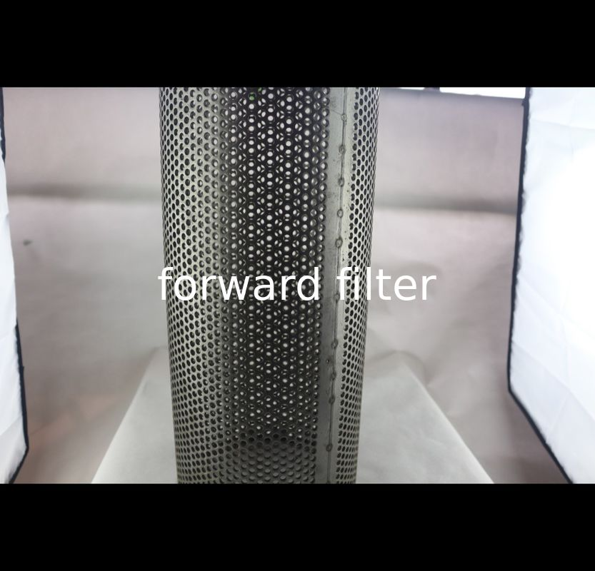 304 Perforated Stainless Steel Exhaust Tubing Electroplated With Hole Pattern