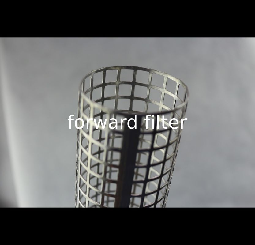 Spiral Perforated Stainless Steel Cylinder , Small Holes Perforated Aluminum Pipe