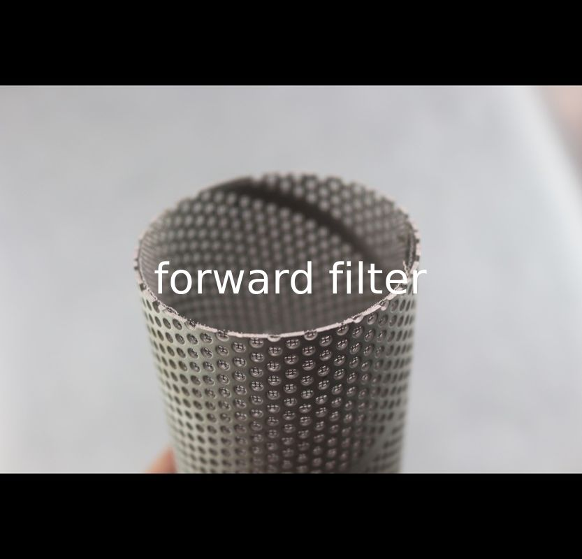 Powder Coating Perforated Stainless Pipe Optional Galvanized For Petrol Textile