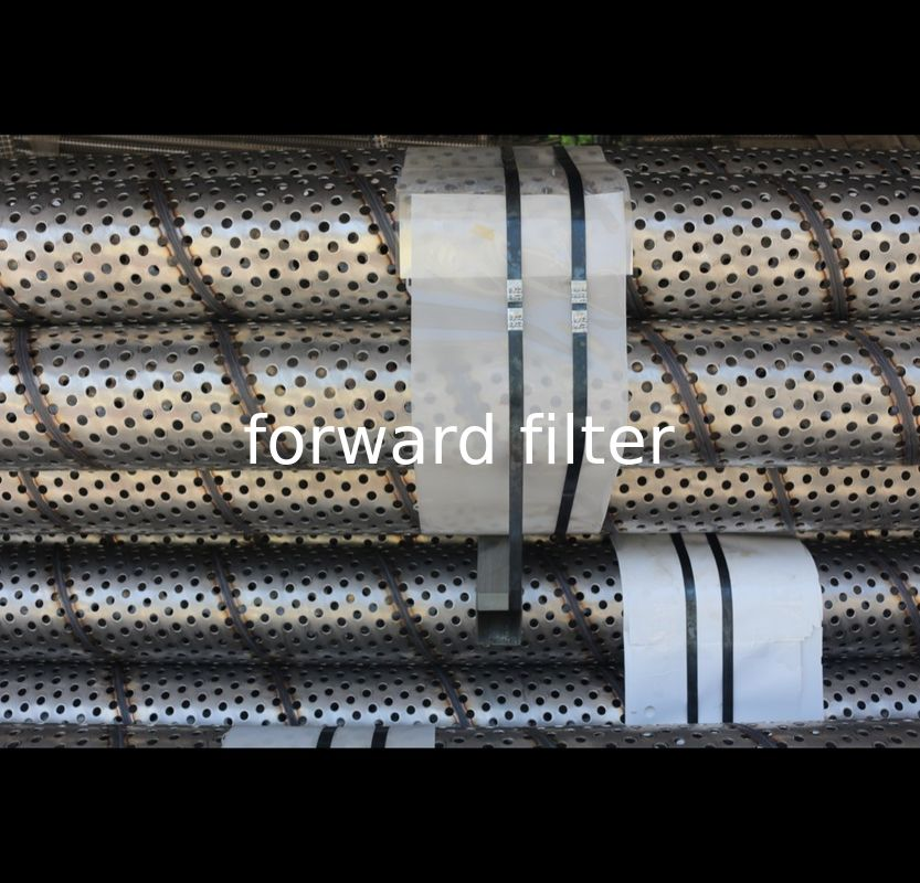 Filtration System Stainless Steel Filter Tube Length 6000 MM 304 304L 316 316L