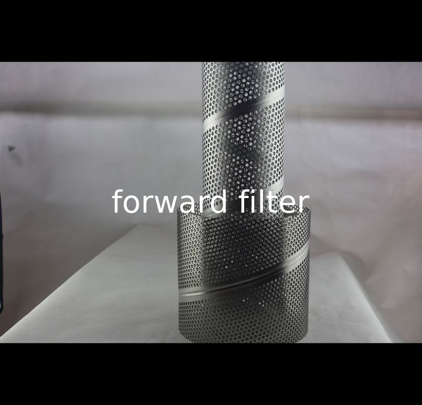 Alloy Perforated Stainless Steel Cylinder , Durable Perforated Stainless Tube