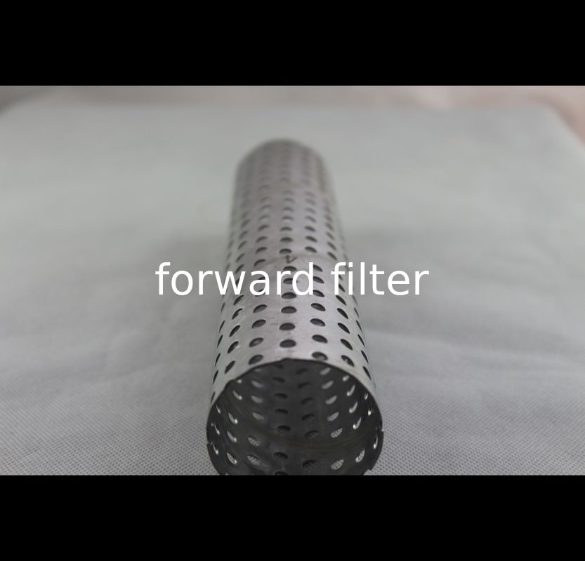 Stainless Steel Perforated Exhaust Tubing Instrument Filter Textile Thickness 0.2mm-50mm