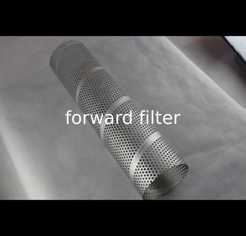 Round Hole Pattern Perforated Filter Tube Surface Treatment Chemical Industry