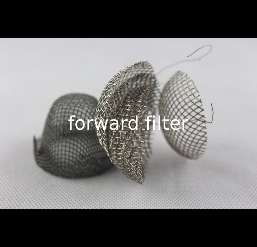 304 Stainless Steel Mesh Tube Filter Filtration Spiral Welded Seamless Custom Length
