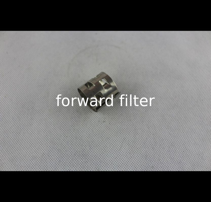 Seamless Stainless Steel Mesh Oil Filters Custom Length Square Hole Shape