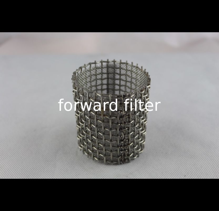 Automotive Perforated Stainless Baffle Tubing Dutch Weave 0.3mm - 4mm Durable